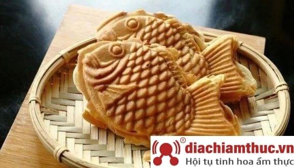 Bánh cá nướng Taiyaki Lạc Long Quân Q.11