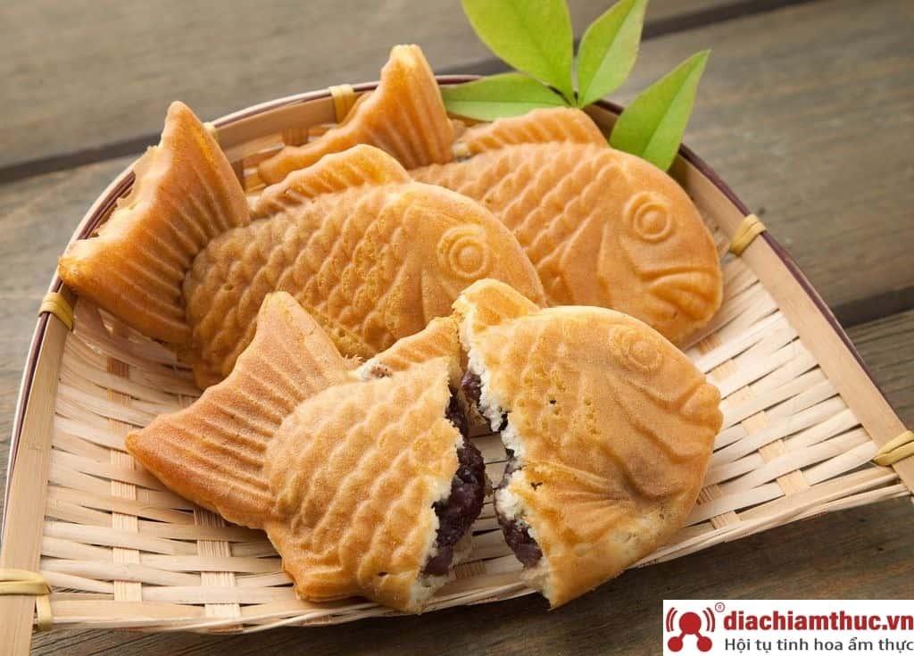 Bánh cá nướng Taiyaki - Lạc Long Quân Q11
