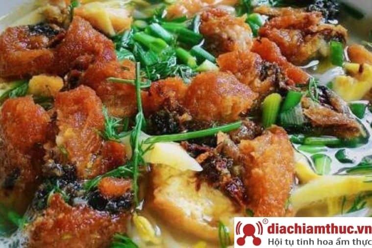 Bánh đa cá rô Liên Đông - Ninh Bình