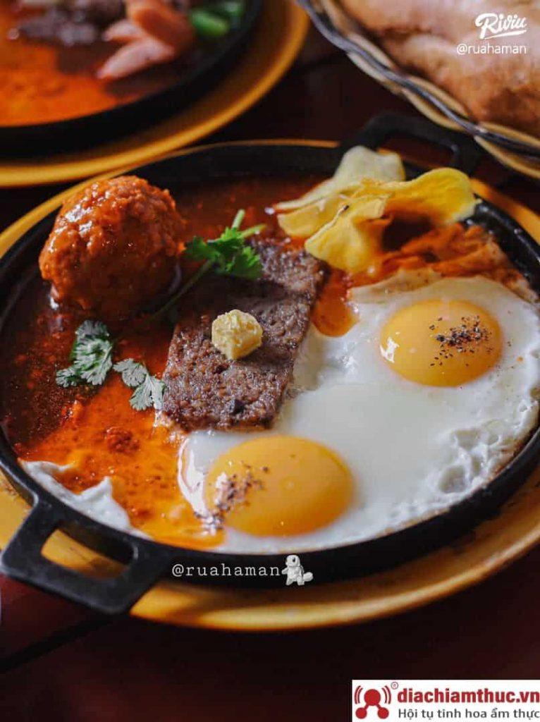 Bánh mì chảo 189 Đinh Tiên Hoàng Đa Kao