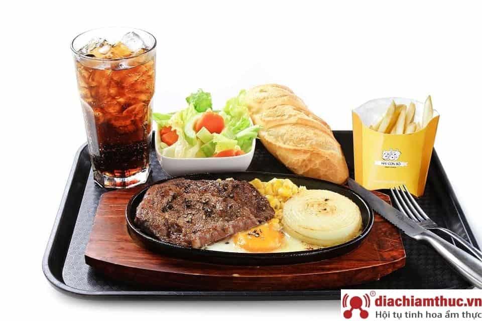 Beefsteak 2 con bò