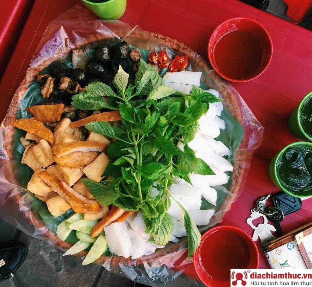 Bún đậu Hồ Cá tại Dương Quảng Hàm