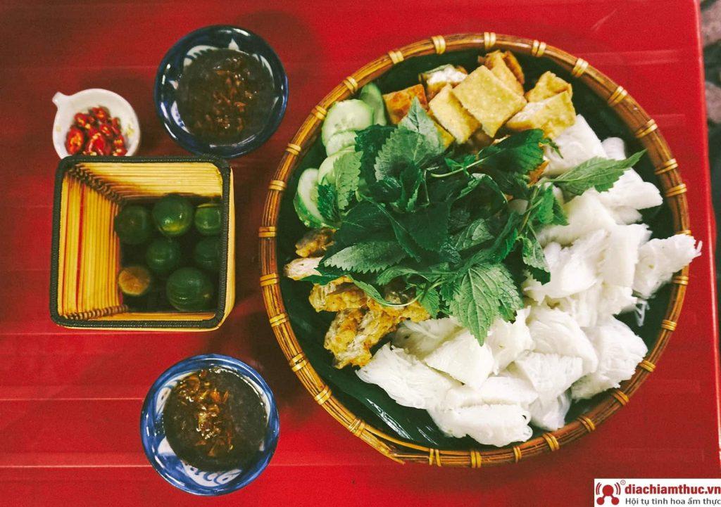 Bún đậu mắm tôm Ninh Bình