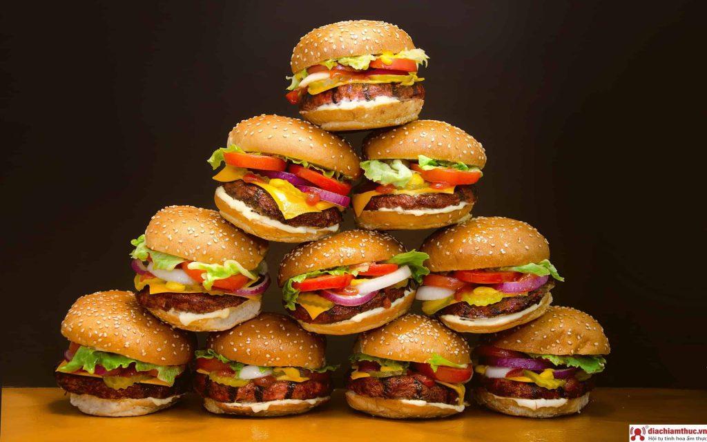 Các loại bánh Hamburger