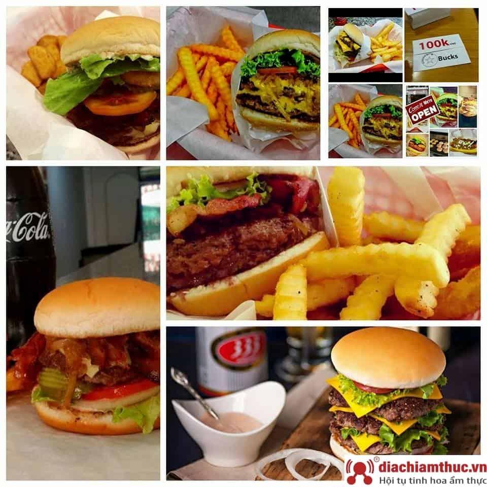 Chuck's Burgers PVC