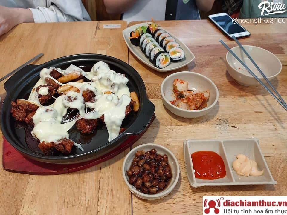 Chuti Korean Food đường Hoàng Diệu