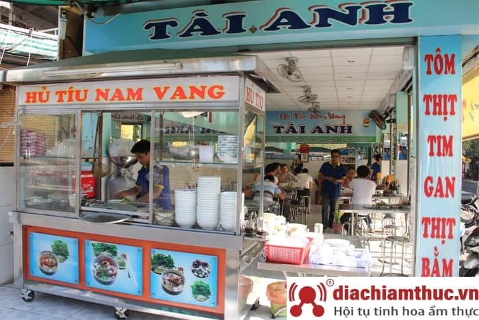 Hủ tiếu nam vang Tài Anh - Nguyễn Thị Thập