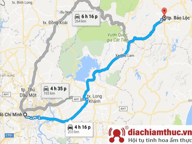 Lịch trình Sài Gòn – Bảo Lộc – Đà Lạt
