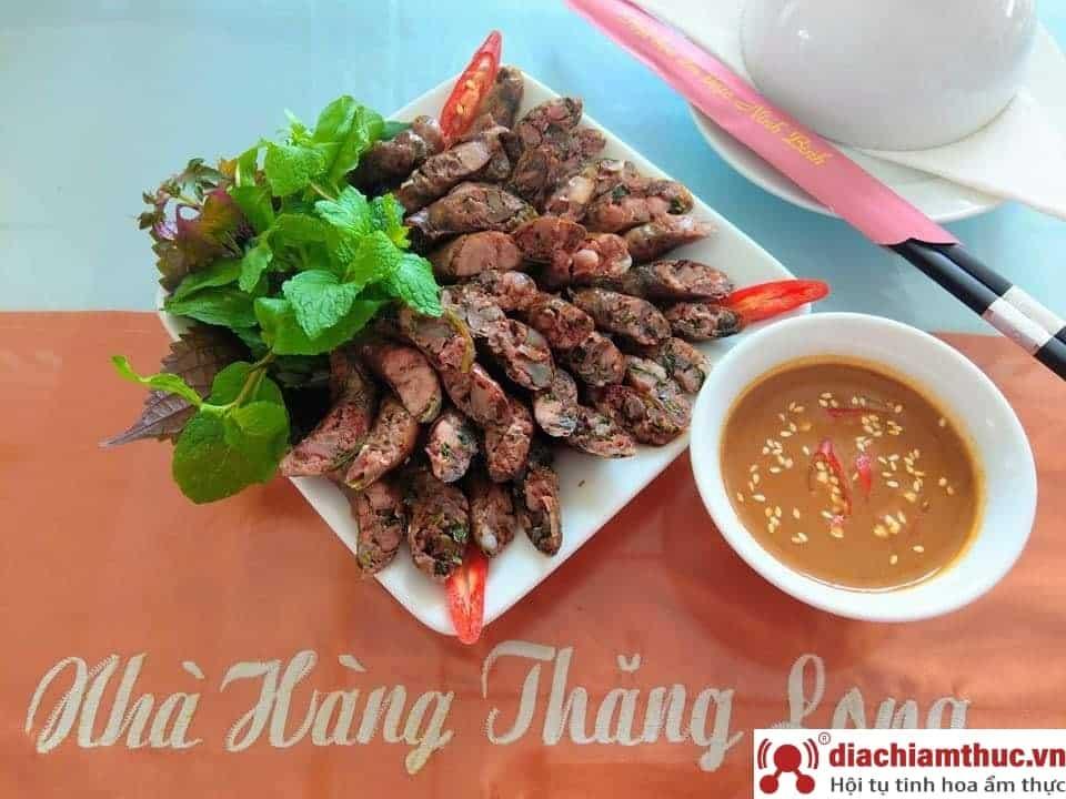 Nhà hàng Thăng Long - Đặc sản dê núi