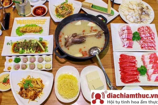 Quán Ba con cừu - ẩm thực Mông Cổ
