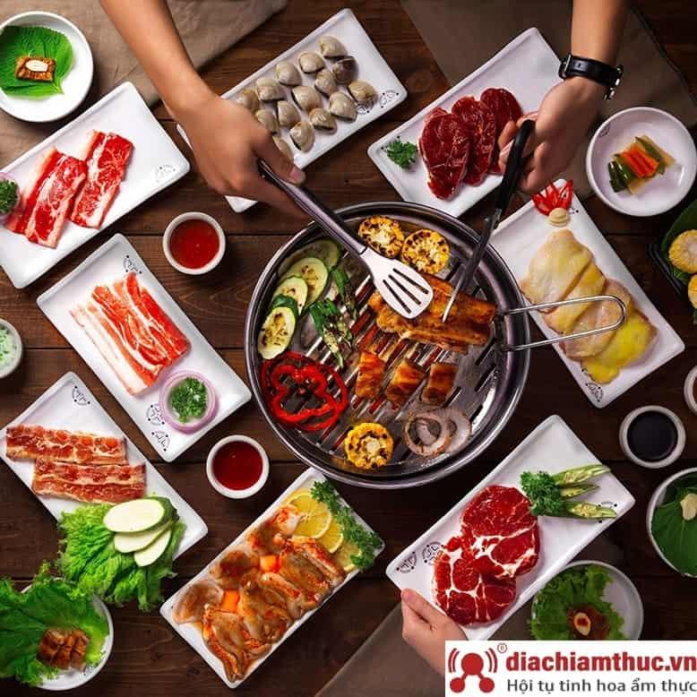 Quán King BBQ - Ẩm thực Hàn