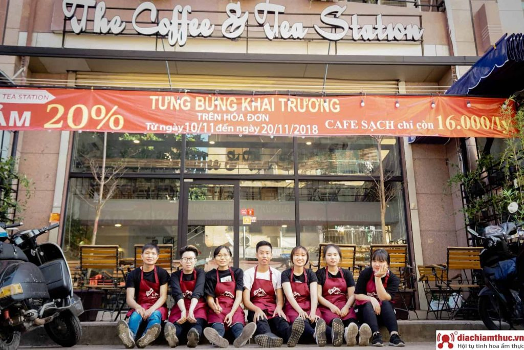 The coffee&Tea Station