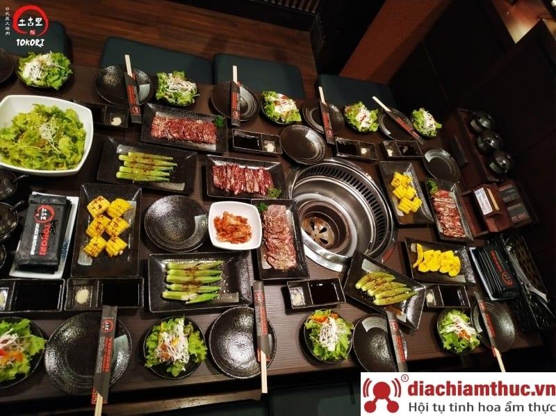 Tokori BBQ – Nhà hàng nướng Nhật Bản
