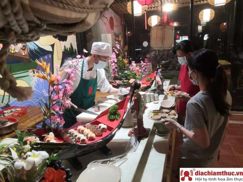 Vườn ẩm thực Nan - Hà Huy Giáp