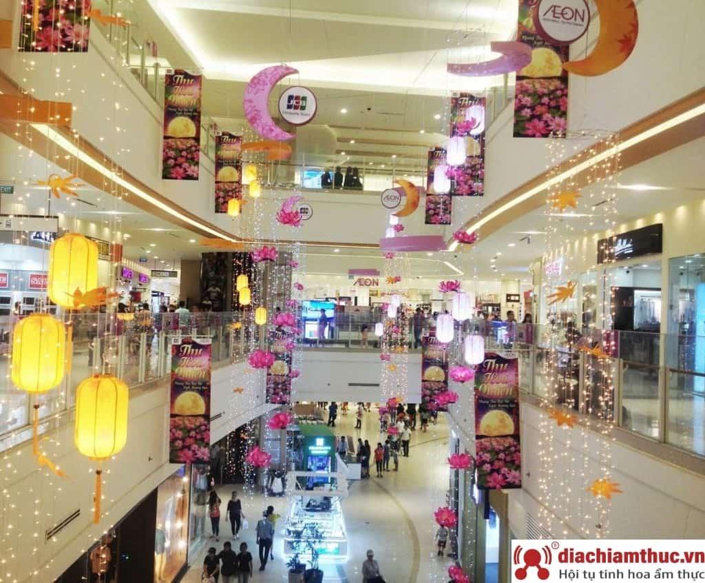 Aeon mall TP. HCM - không gian