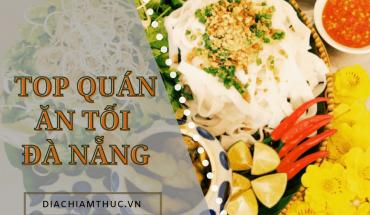 Ăn tối Đà Nẵng