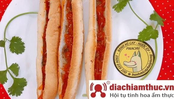 Bánh mì Pikachu – Bánh mì cay Hải Phòng