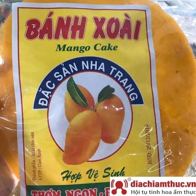 Bánh tráng xoài - Nha Trang