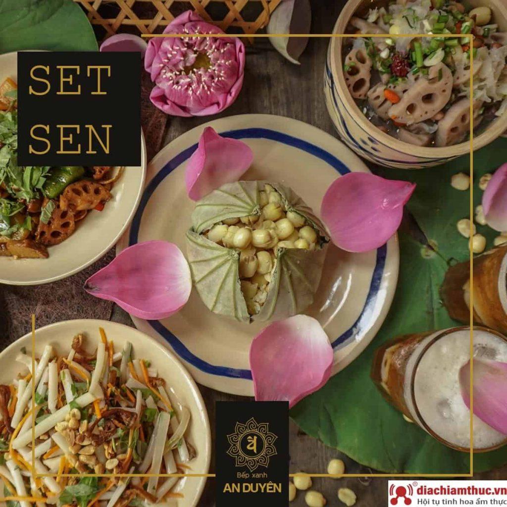 Bếp Xanh An Duyên – Món ăn