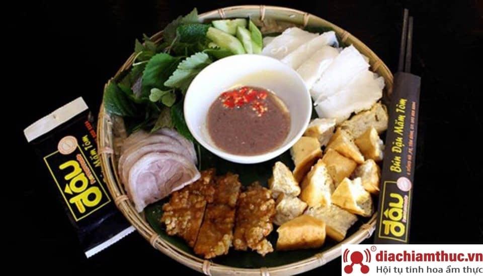 Bún đậu Homemade đường Đồng Đen