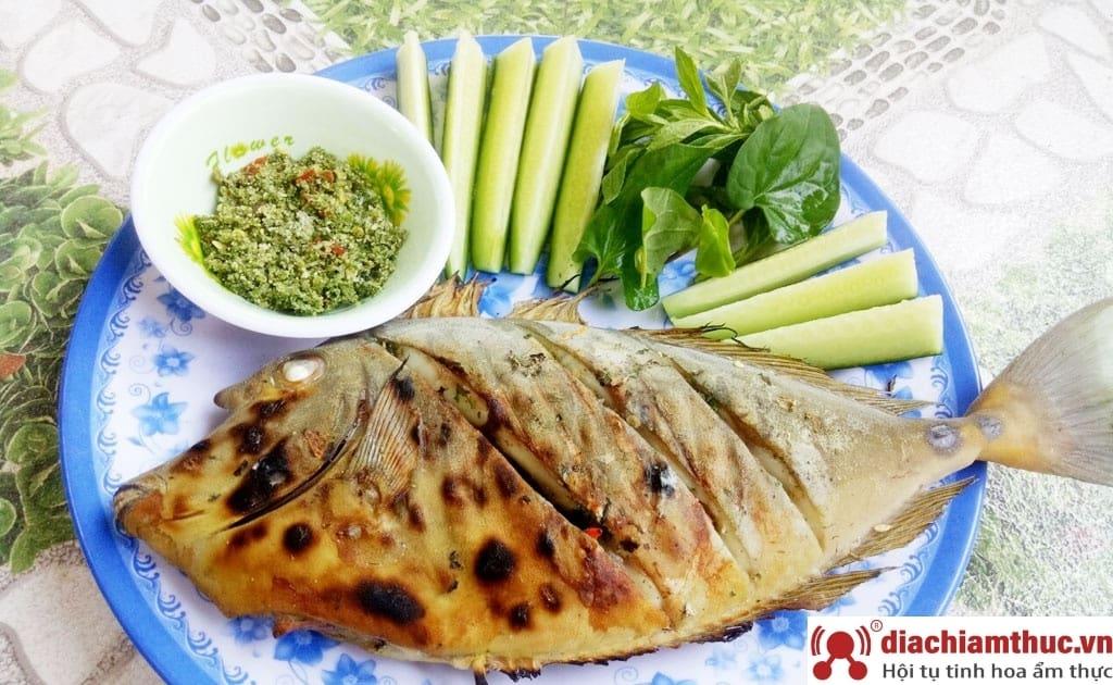 Cá da bò nướng muối ớt - Món ngon Phú Quốc