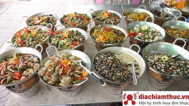 Các món ốc tại Đà Nẵng