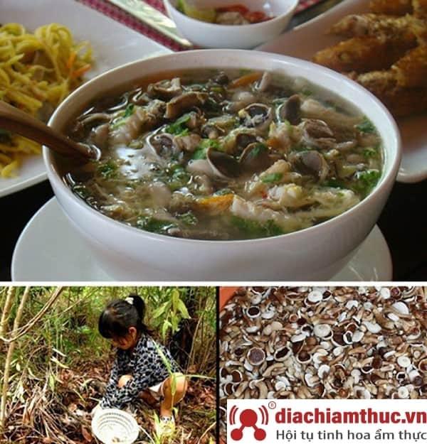 Canh nấm tràm hải sản - Đặc sản Phú Quốc