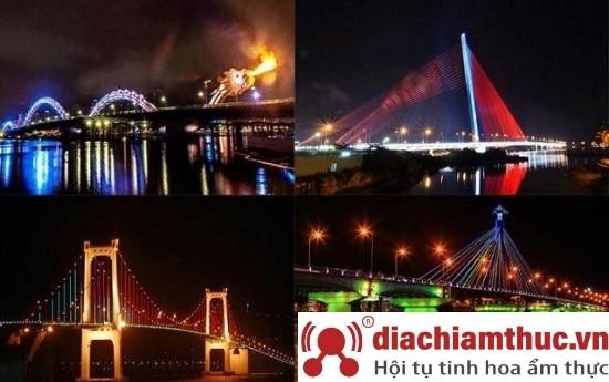 Cây cầu nổi tiếng tại Đà Nẵng