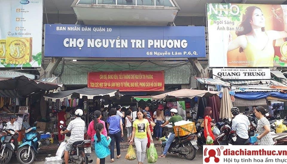 Chợ Nguyễn Tri Phương