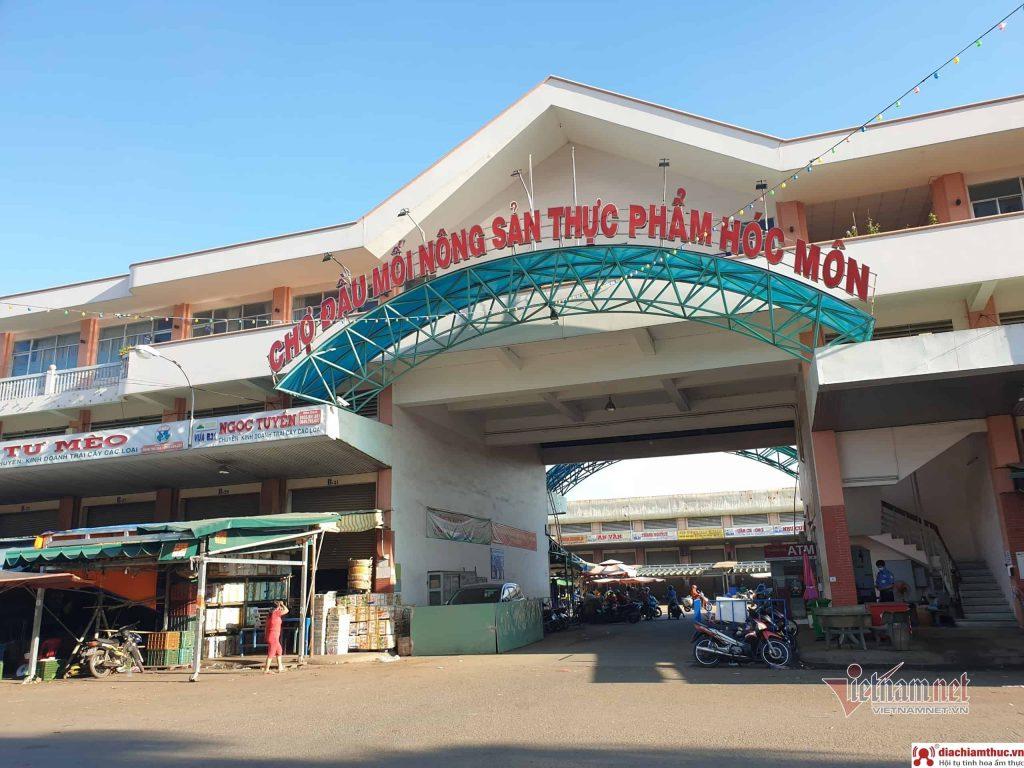 Chợ đầu mối nông sản thực phẩm Hóc Môn