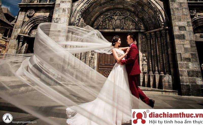 Chụp hình cưới tại Nhà Thờ Đá