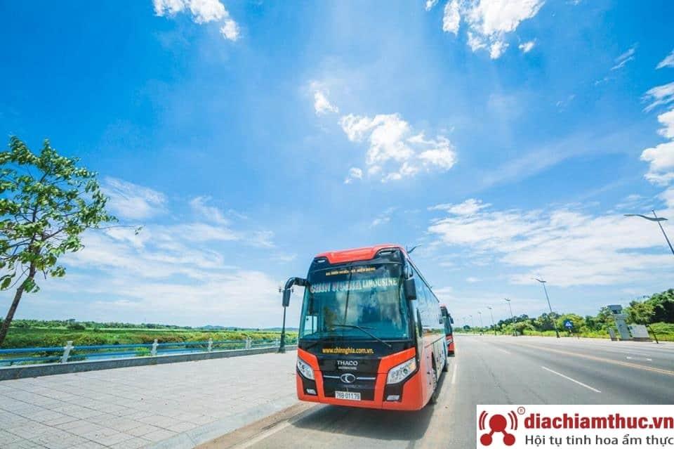 Di chuyển đến Huế bằng phương tiện xe khách