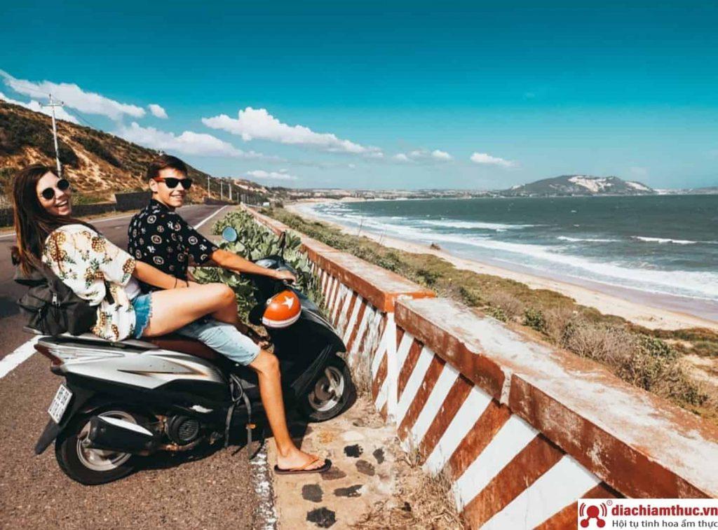 Đi xe máy đến Mũi né