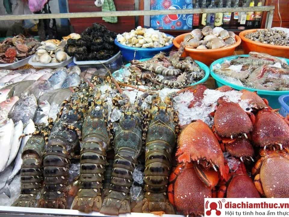 Địa điểm ăn hải sản ở Mũi Né