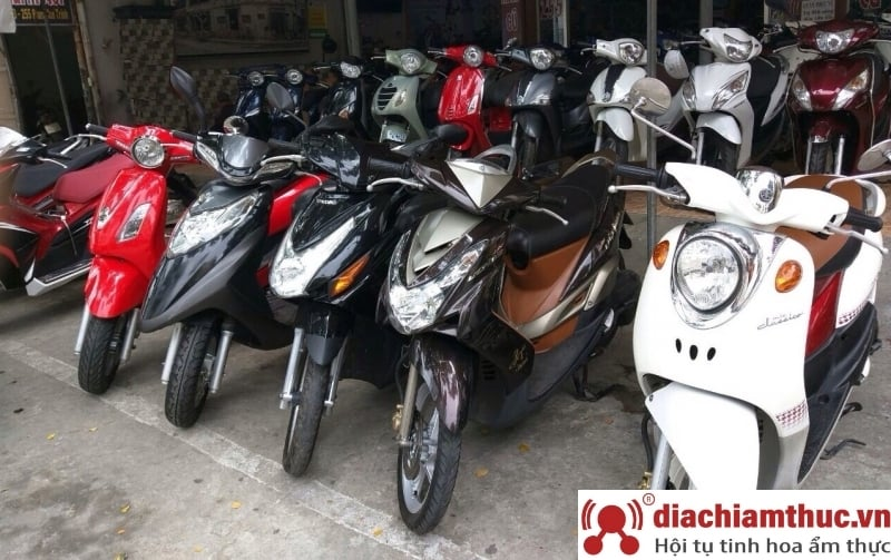Dịch vụ thuê xe máy Sapa