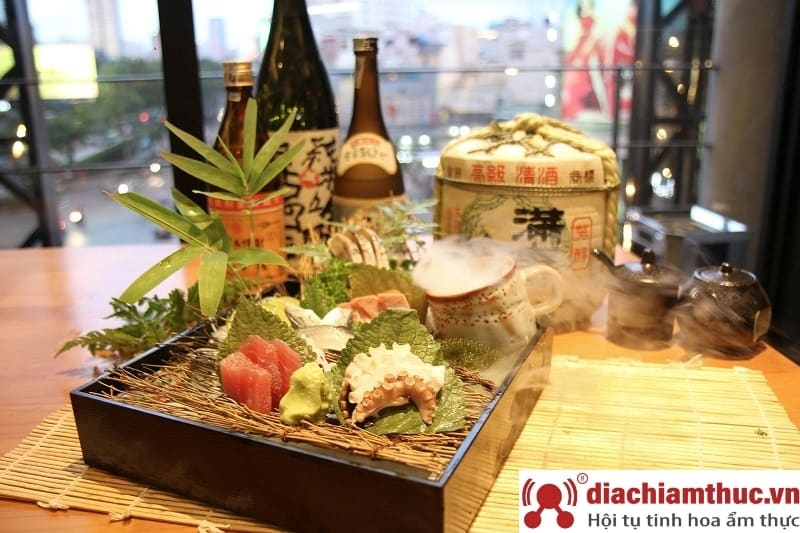 Iki sushi tại 70 Nguyễn Cơ Thạch