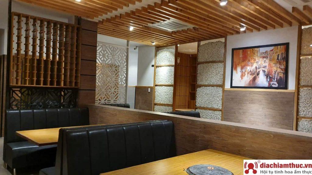 Không gian tại nhà hàng Hana Buffet