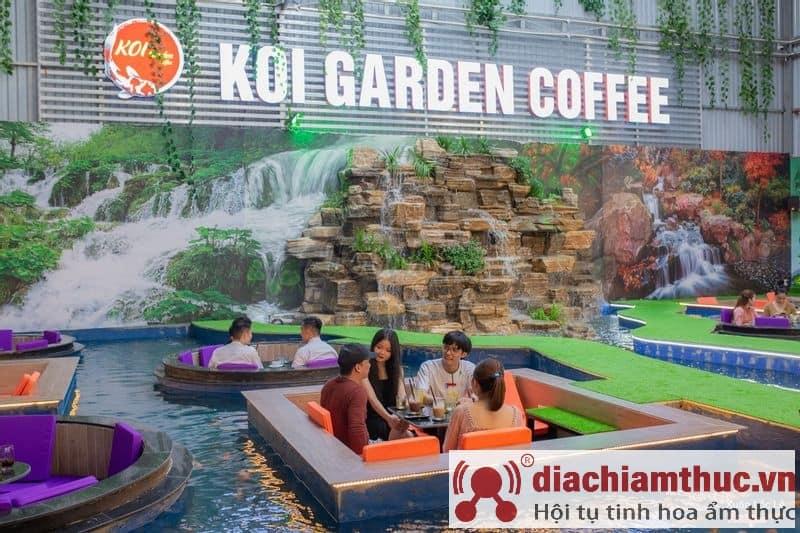 Koi Garden Coffee quận 5