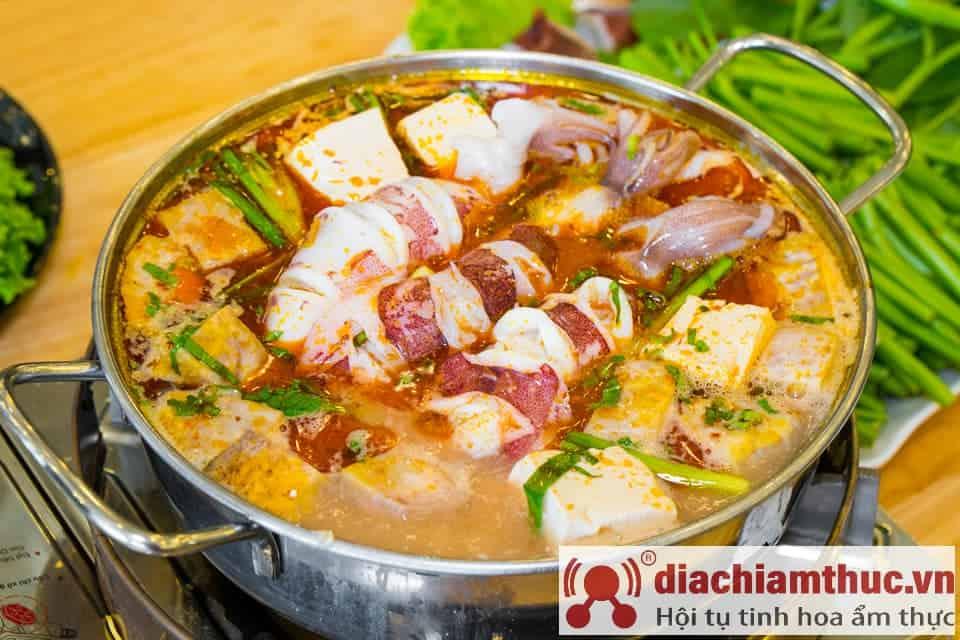 Lẩu mực nấu chao Thuận Phúc - Vũng Tàu