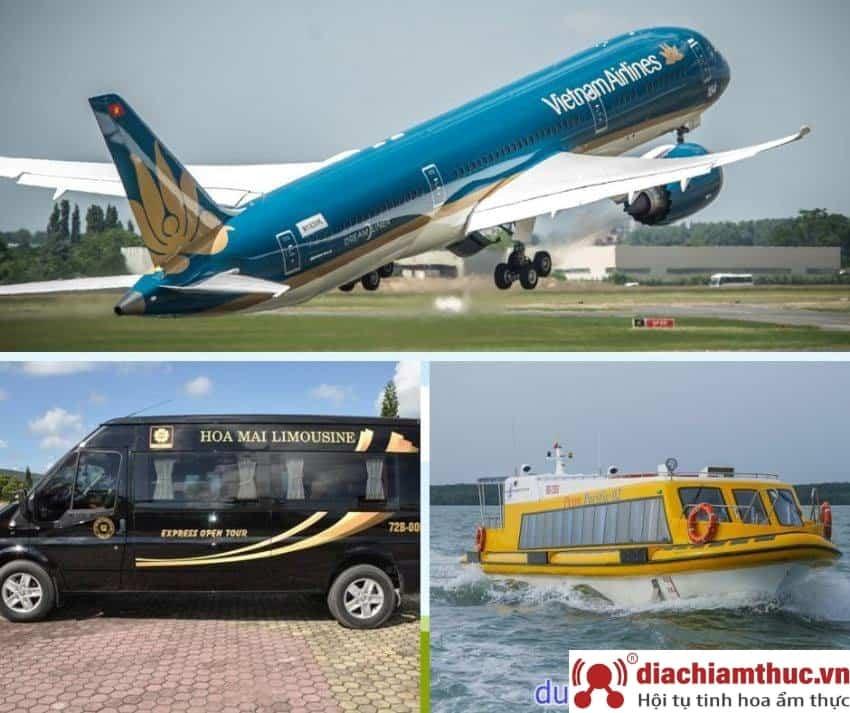 Lựa chọn phương tiện du lịch Vũng Tàu