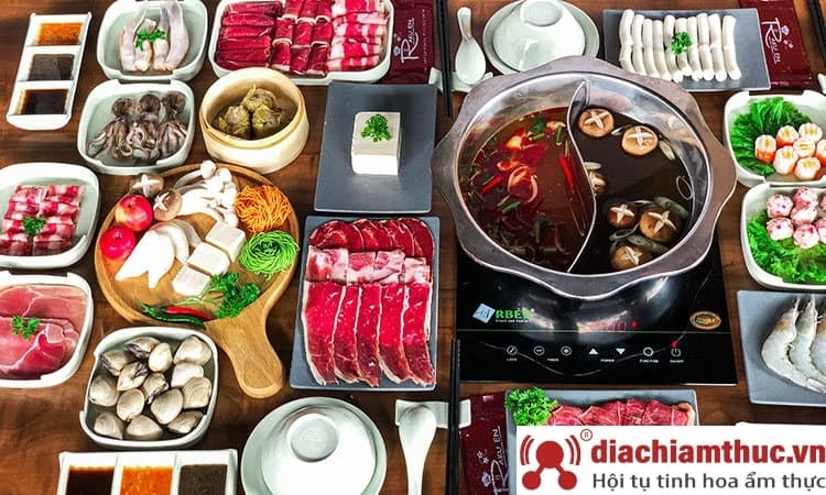 Món ăn Rakuen Hotpot Lê Văn Sỹ