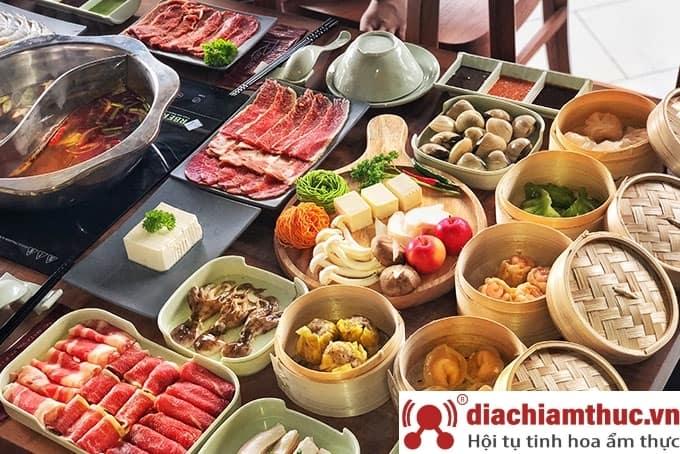 Món ăn tại Rakuen Hotpot Lê Văn Sỹ