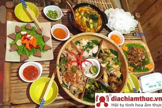 Món ăn tại nhà hàng An Nam Quán - Tú Xương