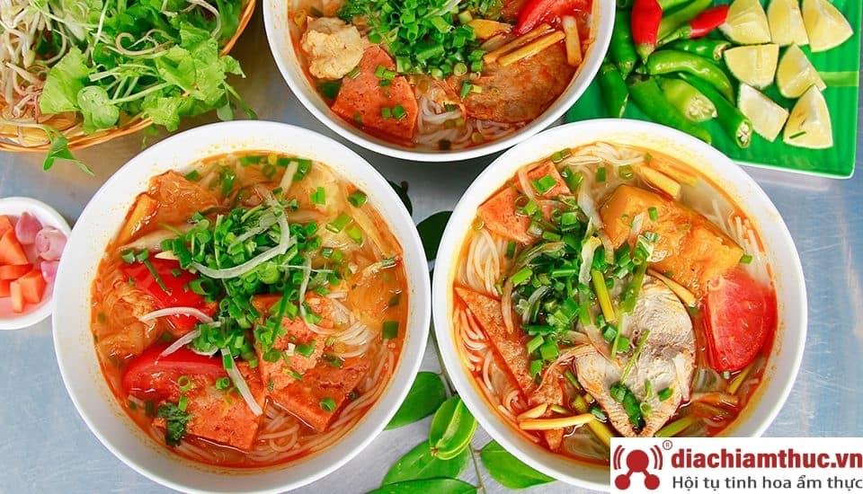 Món bún chả cá ngon tại Đà Nẵng