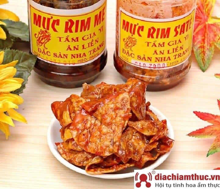 Mực rim me Nha Trang