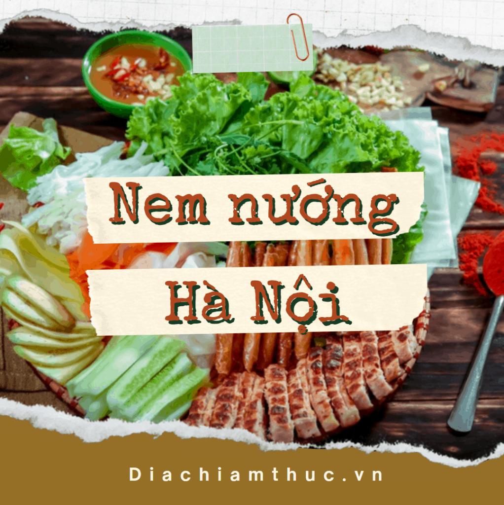 Nem nướng Hà Nội
