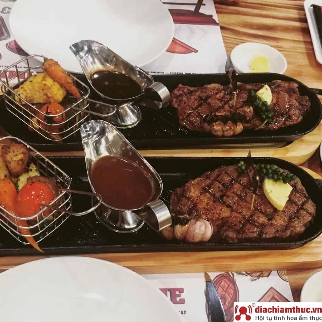 New York Steakhouse - Món Beefsteak