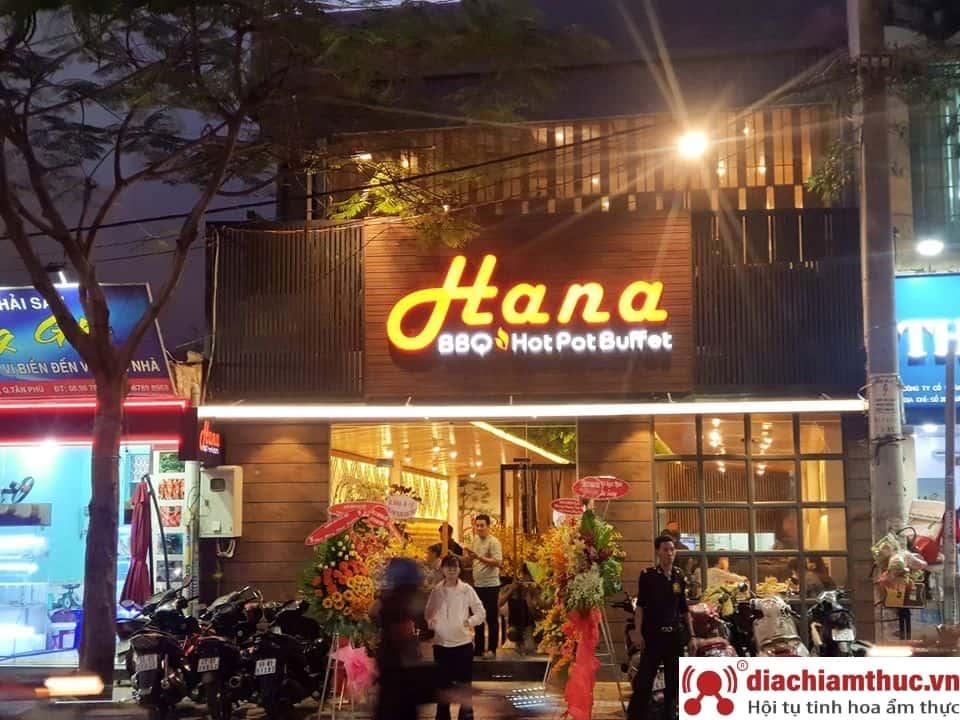 Nhà hàng Hana Buffet BBQ