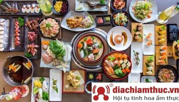 Nhà hàng Isushi BuffetNhật Bản Tân Bình
