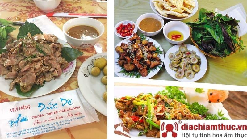 Những món ăn ngon tại Ninh Bình